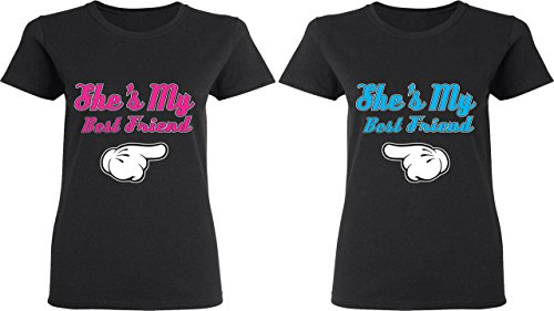 She is My Best Friend - BFF Matching Shirts - Best Friend Forever T-Shirts
