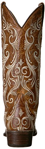 Stetson Boot Women''s Brown Willow Western Cw1rXCq