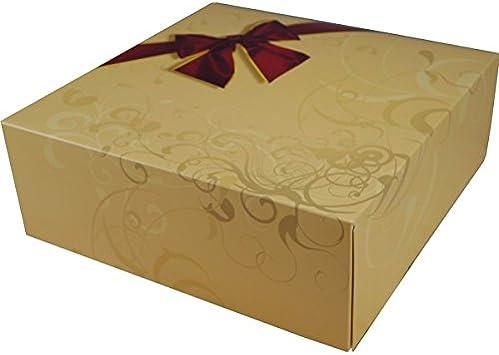5 unidades caja para tartas con diseño: