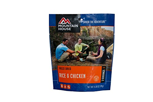 Mountain House Meals - Mountain House Rice and Chicken