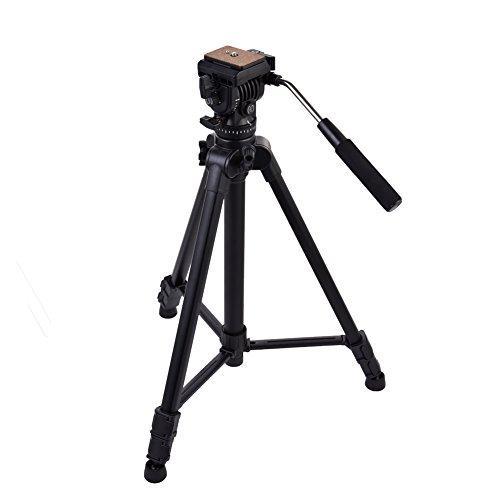 "Kingjoy VT-1500 65""/166cm Camera Video Tripod Aluminum Alloy"