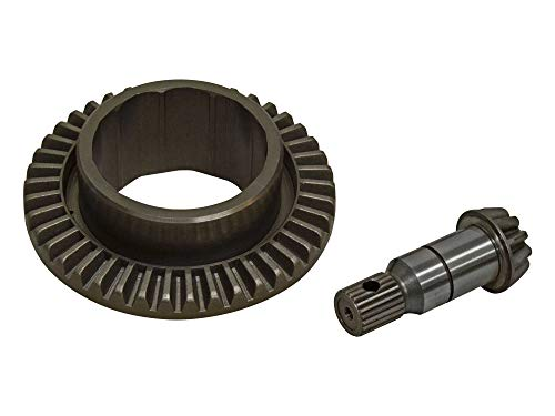 SuperATV Heavy Duty Ring and Pinion Gear Set for Specific Polaris ACE/Ranger/RZR (See Fitment) - Replaces OE #3235441 - Closed Tooth Ring Design ONLY (Ring And Pinion Gear Sets)