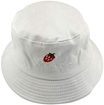 Kebab 25 jaar oude baby zomer zonnehoed aardbei pot hoed borduurwerk zonnehoed
