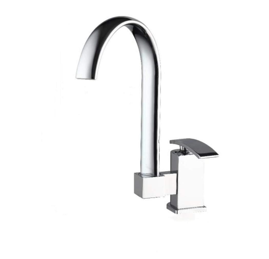 Waschtischarmatur Spültisch Badarmatur Wasserhahn Aus   Massivem Messing Schwenkhahn Küchenauslauf Küchen-Einhebelmischer