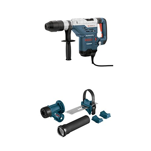 Bosch 11264EVS 1-5/8 SDS-Max Combination Hammer with HDC300 SDS-Max and Spline Hammer Dust Collection Attachment by Bosch