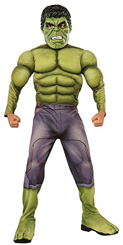The Hulk Halloween (Thor: Ragnarok Deluxe Hulk Child's Costume, Small)