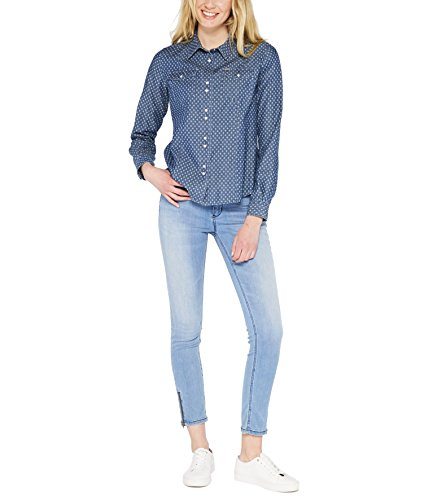 Colorado Blu minimal Camicia Donna Blue Denim Elin ZqrZI
