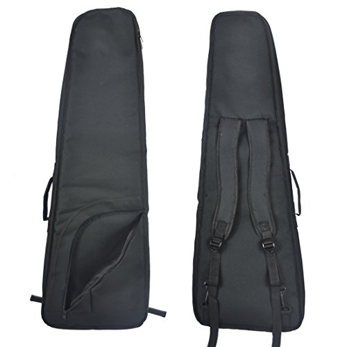 Tosnail Mini Strat Gig Bag - 10mm Padding & Shoulder Strap - Black by Tosnail (Image #1)