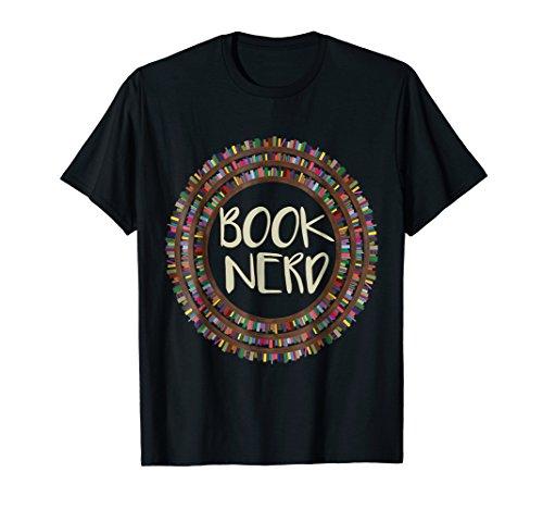 Book Nerd T Shirt - Comic Book Lover T Shirts for Men Women