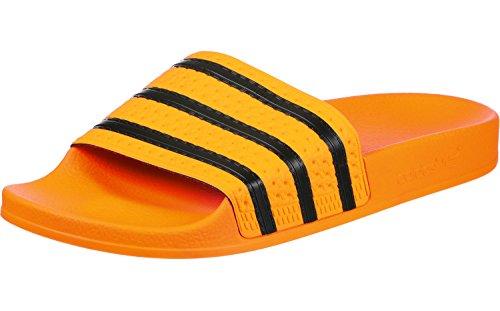 De or Piscine Rel S18 Pour Homme Or Et Plage Chaussure Noir Orange Adilette S18 Adidas XqEzX