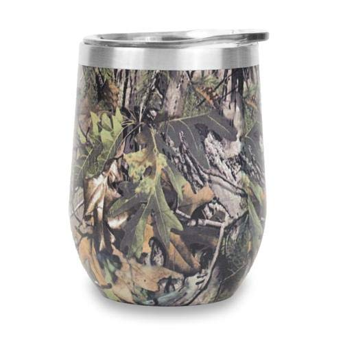 Ice Shaker 12oz Insulated Stainless Steel Wine Cup (Camo)]()