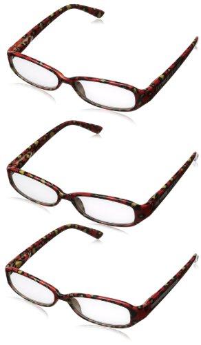 Solo Readers womens R7041 Reading Glasses,Brown,Black & - Sole Eyewear