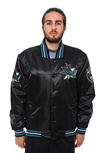 San Jose Sharks Lightweight Satin Jacket (X-Large)
