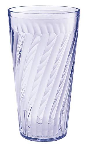 - G.E.T. Enterprises 2232-1-BL Blue 32 oz. Plastic Tahiti Tumblers (Pack of 4)