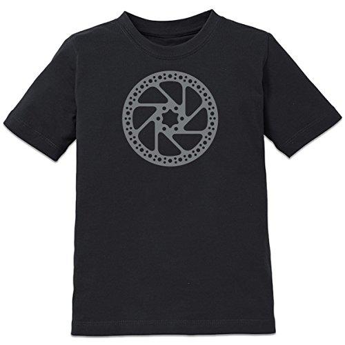 111 Brake (Shirtcity Bicycle Brake Kids' T-shirt 110-116 Black)
