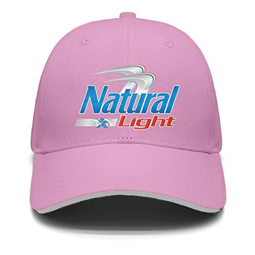 uter ewjrt Adjustable Natural-Light-Beer-Logo- Baseball Hat Fitted Fashion ()