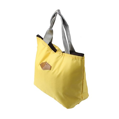 Rawdah - Bolso mochila  para mujer azul azul amarillo