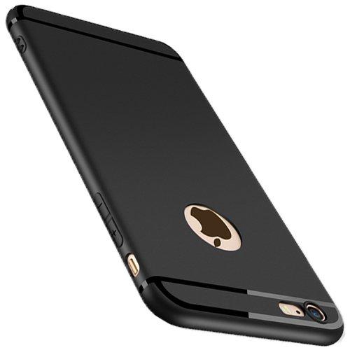 new product 324d7 e5501 Matte TPU Iphone 6 case, TPU Iphone 6s cases Premium Luxury Soft & Ultra  Thin iphone 6s Phone Case Cover(Black)