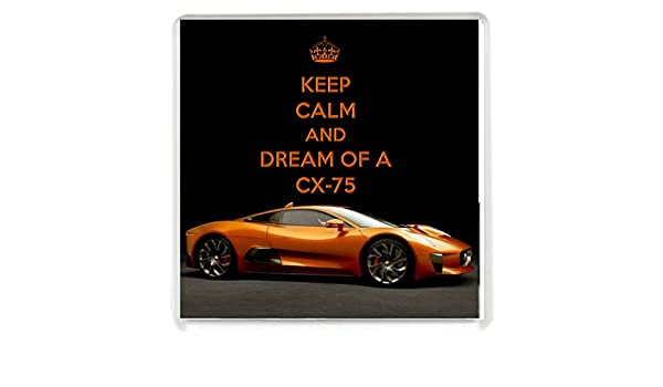 Amazon.com | Yummy Grandmummy Keep Calm And Dream Of A Cx 75 Drinks  Coaster: Coasters