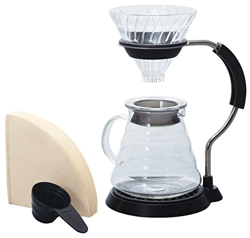 HARIO 하리오 V60 암 스탠드 유리 커피 드립퍼 세트 VAS-8006-G / 스텐레스 세트 VAS-8006-HSV