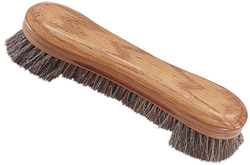 Pro Series A15-A Wooden Billiard Table Brush with Horse Hair/Nylon Bristles, 10.5-Inch, Oak