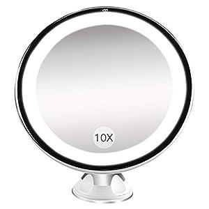 Specchio Con Led Incorporato.Bestope Specchio Ingranditore Da Trucco Con Luce Led