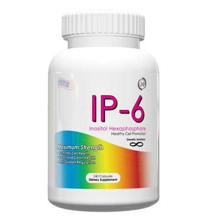 IP-6-inositol hexaphosphate maximale de la résistance 500mg 240 Capsules Pour la santé du côlon, du sein de la santé, la santé des os, la santé pulmonaire, (comme présenté sur le Dr Oz Show) la taille du stock de bonus-vous et économisez sur IP-6!