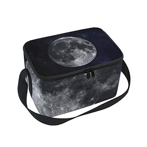Bandolera De Cooler System Lunchbox Para Picnic Almuerzo Bolsa Solar Moon Planet RPHxPO