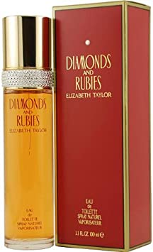 Elizabeth Taylor Diamonds & Rubies 100ml/3.3oz Eau De Toilette Spray for Women