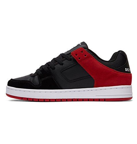 DC Shoes Sneaker Uomo Black/Athletic Red