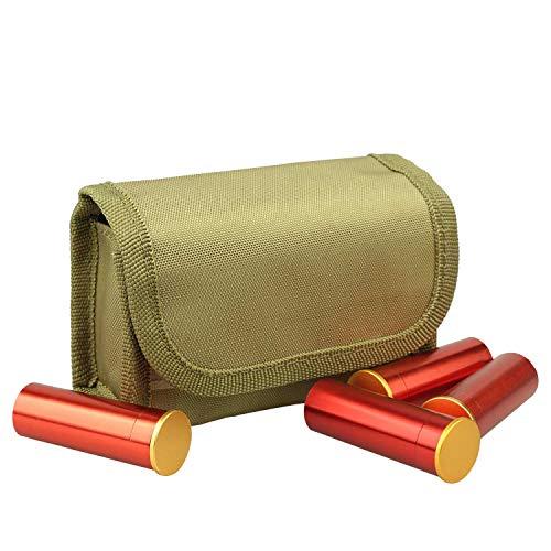 (10 Round Shotgun Shotshell Reload Holder Molle Pouch for 12 Gauge/20G (tan))