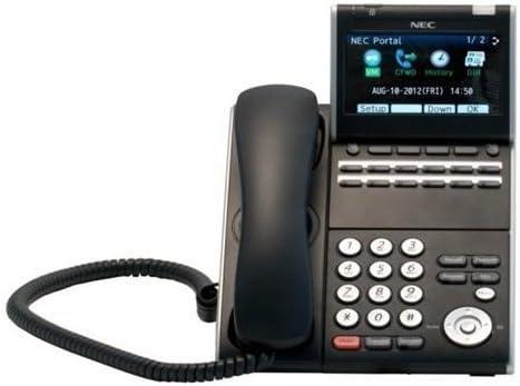 NEC Aspire 34 Button Display Telephone Black Stock # 0890045 IP1NA-24TXH Certified Refurbished