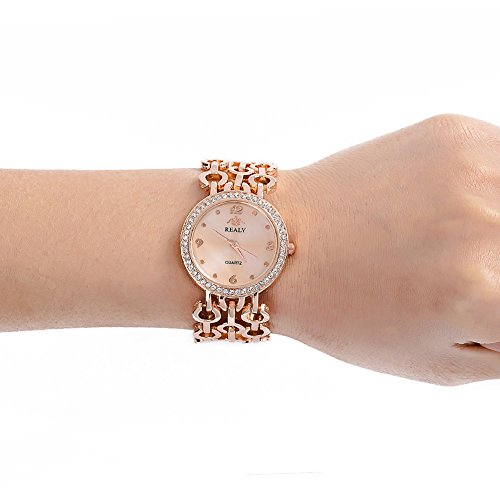 Women Wrist Watch, REALY Ladies Wrist Watch Rose Gold, Silver, Gold for Girls Lady