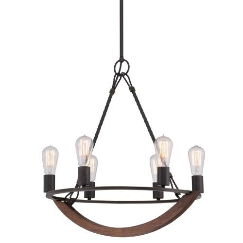 Quoizel-ANR5006-Anchor-6-Light-Single-Tier-Chandelier