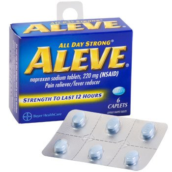 Aleve 220mg (NSAID) 6 Caplets by Aleve