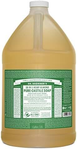 Dr. Bronner's Magic Soaps Fair Trade and Organic Castile Liquid Soap