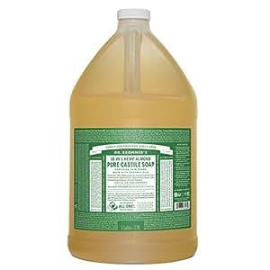 Dr. Bronner's Pure-Castile Liquid Soap – Almond, 1 Gallon