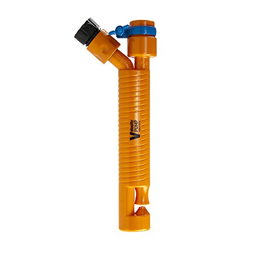 V-Pump 060400 Multipurpose Submersible Water Pump, 10-1/2-Inch, Orange
