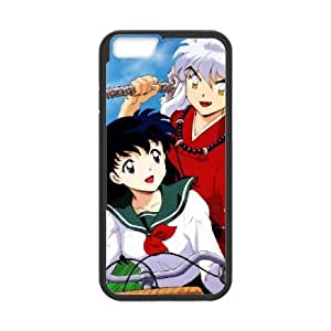 iPhone 6 Plus 5.5 Inch Phone Case Cover Black Inuyasha6 EUA15977780 Phone Case Cover Clear Personalized