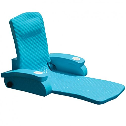 Floating Recliner, Foam Lounge Pool Chair Spring Float Recliners For Adults