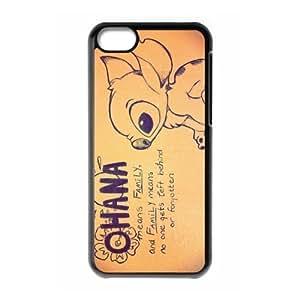 Fashion Lilo and Stitch Personalized iPhone 5C Hard Case Cover -CCINOKimberly Kurzendoerfer