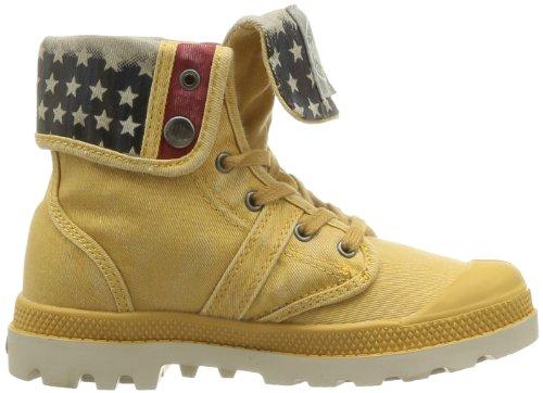 Boots Palladium Flag 632 Baggy Jaune Mustard mixte enfant xwfEgUw
