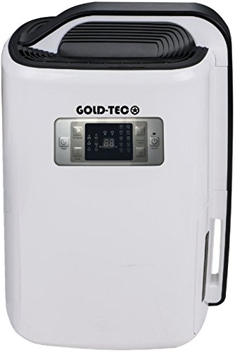20 LITRE GOLD-TEC 260W Low Energy 20L Dehumidifier For 5 Bed House With...