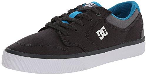 DC Mädchen Nyjah Vulc TX Lowtop Schuhe Grey/Grey/Blue