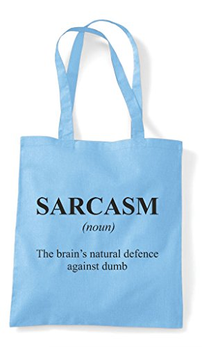 Sky The Definition Blue Alternative Shopper Tote Sarcasm In Funny Dictionary Not Bag OpZxaU
