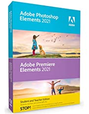$79 » Adobe Photoshop Elements 2021 & Premiere Elements 2021 Student and Teacher [PC/Mac Disc] V.2021