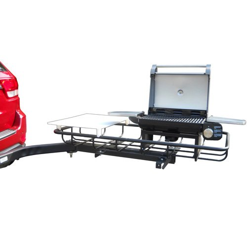 Stowaway Hitch Mount Grill for Tailgating and Grilling - Swings Out to The Ideal Grilling Position, Providing Clear Access to The Rear of Your Vehicle - 1.25