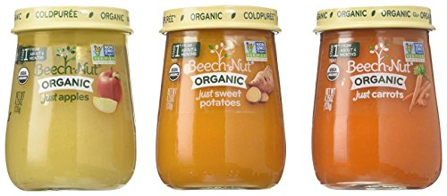 Beech-Nut Organic Stage 1 Baby Food