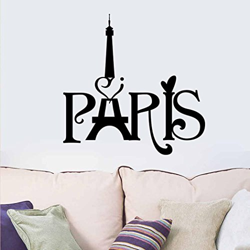 Oksale® Halloween Party Wall Stickers, 16.0 × 17.0 Inch, Decorative Home Living Room Bedroom Crafts PVC Removable Applique Papers Mural Decoration (Disney It's Halloween Song Lyrics)