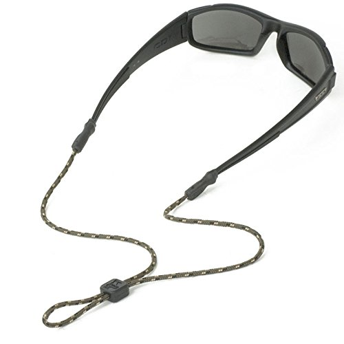 Chums 3mm Universal Fit Rope Eyewear Retainer Olive/Gold/Black